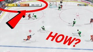 NHL 18 - THE BEST COMEBACK EVER IN HUT?! (5 GOAL FINISH)