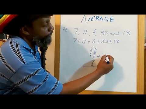 BAASE Math Average (Part 1) - YouTube
