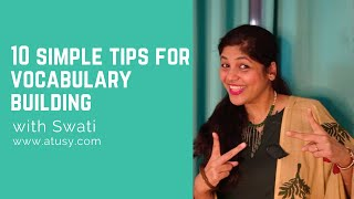 10 Simple Tips for Vocabulary Building