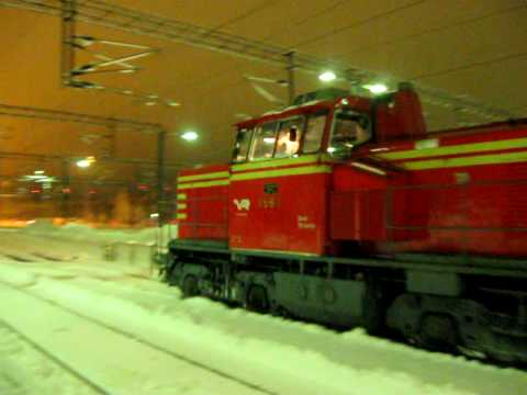 VR class Dr14 #1867 part 1 Tampella-MAN dieselpower!!