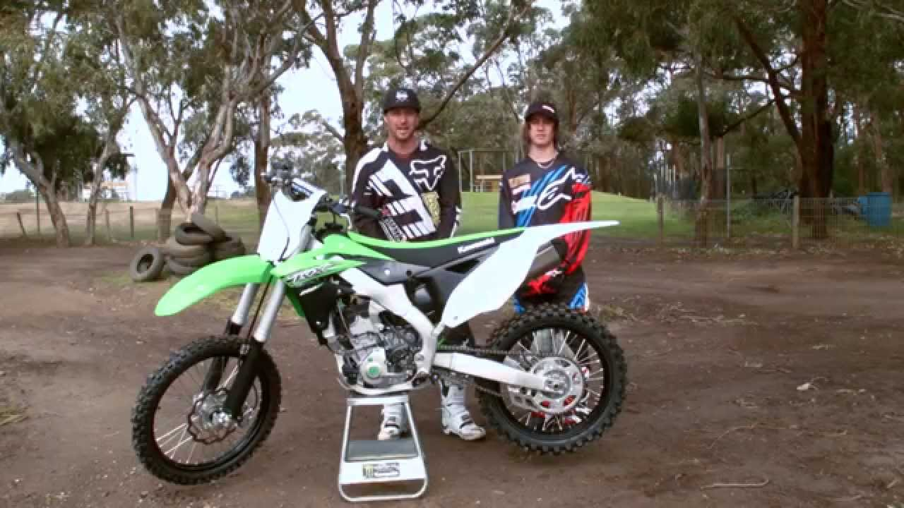 MXTV Bike Review - 2015 Kawasaki KX250F - YouTube