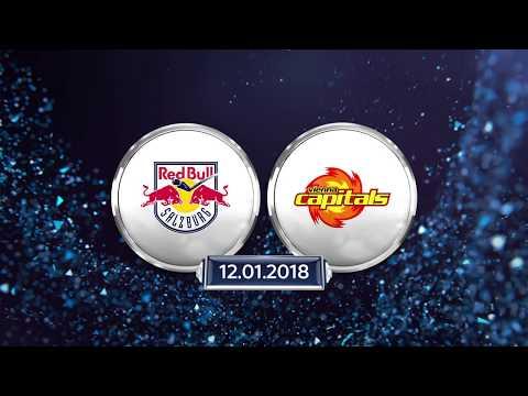 Erste Bank Eishockey Liga 17/18, 39. Runde: EC Red Bull Salzburg - Vienna Capitals 5:1