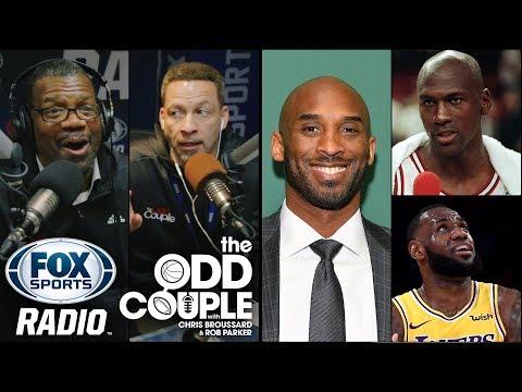 Kobe Bryant, LeBron James, Michael Jordan & The GOAT Conversation