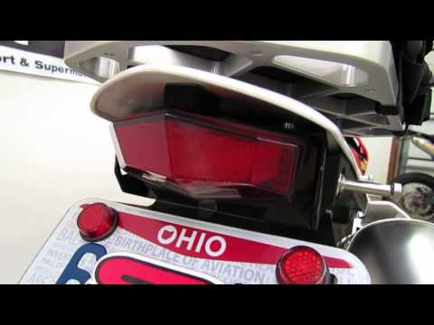 Honda CRF250L DRC Edge2 Integrated Tail Light Kit Review and Demo by SRmoto.com