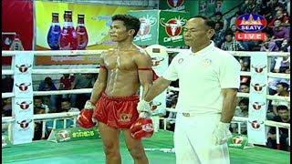 ធន់ អៀងឡៃ Thun Eanglai Vs Samnang Pheakdey, SeaTV Boxing, 19/May/2018 | Khmer Boxing Highlights