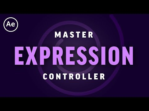 How to Use Master Expression Controllers | After Effects CC Tutorial