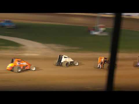 Plymouth Dirt Track IRA WINGLESS Sprints Heat Races 9-28-2019