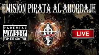 La noche de la Alquimia 81 programa. 29/12/2016. Emisión Pirata. Al abordaje