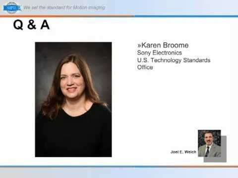SMPTE Standards PDA Webcast: Motion Picture Metadata - Beyond the Basics