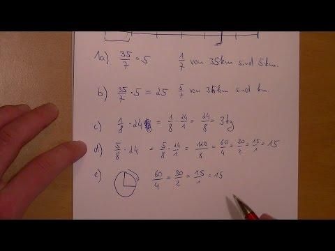 Berechne den Anteil. 8 Aufgaben vorgerechnet | 1/6 Blatt 0506 - YouTube