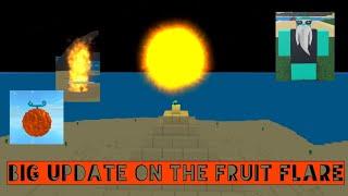 Novos ataques na fruta FLARE Overkil-One Piece lendário beta-Roblox-Update 5.5.5