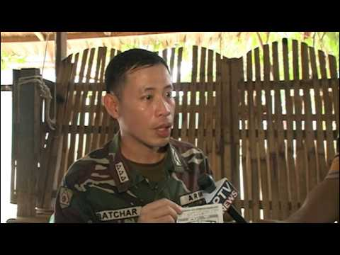 English Version (PTV News 9PM) 10th Infantry Division trip to Davao and Caraga