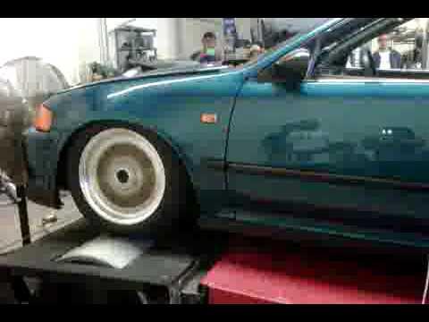 J swap v6 civic j32a2 dyno 239whp and 212ft lbs in limp for Honda limp mode