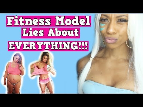 Insta Model Caught Lying about EVERYTHING [25lbs In one month, Apple Cider Vinegar?]