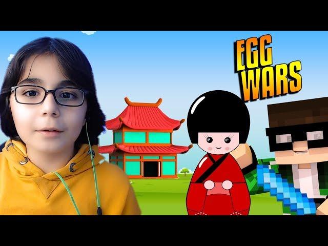 JAPON TROLL YEME Minecraft - Egg Wars BKT