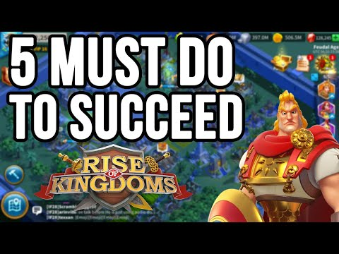 Can Free to Play Survive | 5 Tips to Succeed in #RoK | Rise of kingdoms