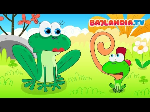 Była Sobie żabka Mała - Piosenki Dla Dzieci Bajlandia.tv