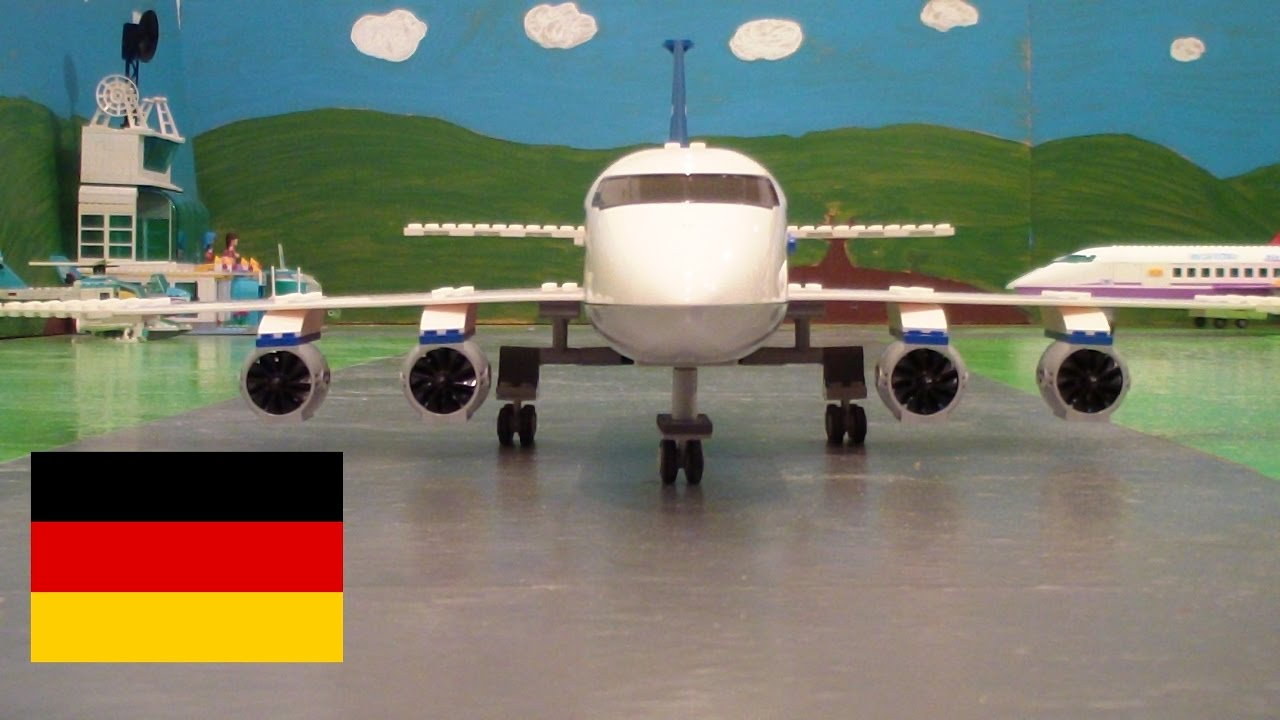 Lego Flughafen Film Youtube
