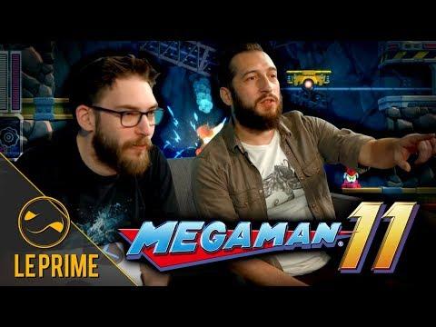 Découverte de Mega Man 11 avec Max & Menraw - Le Prime