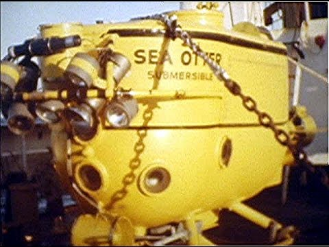 Sea Use V  1972 Cobb Seamount Submarine Survey