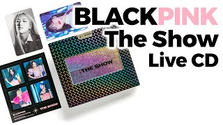 Unboxing Blackpink The Show Live CD/ Quick Look
