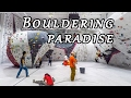 Bouldering paradise!