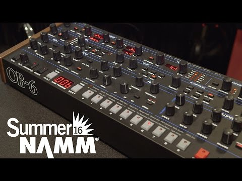 Dave Smith Instruments OB6 Module - Summer NAMM 2016