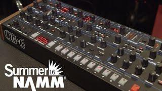 Dave Smith Instruments OB6 Module - Summer NAMM 2016