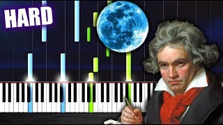 Baixar Beethoven - Moonlight Sonata - HARD Piano Tutorial by PlutaX