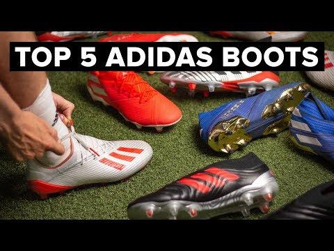 BEST ADIDAS FOOTBALL BOOTS 2019 - YouTube