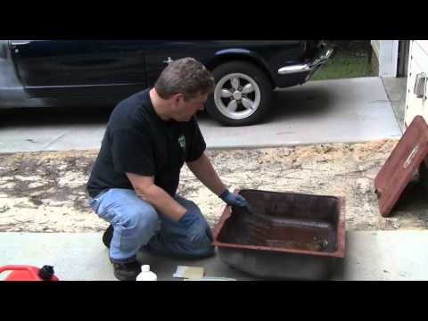 Episode 87 How to restore your car's gas tank using POR15 Products Autorestomod