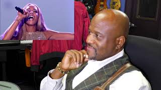 GLENNIS GRACE I WILL ALWAYS LOVE YOU FT CANDY DULFER ON SAX MR HARRIS REACTION