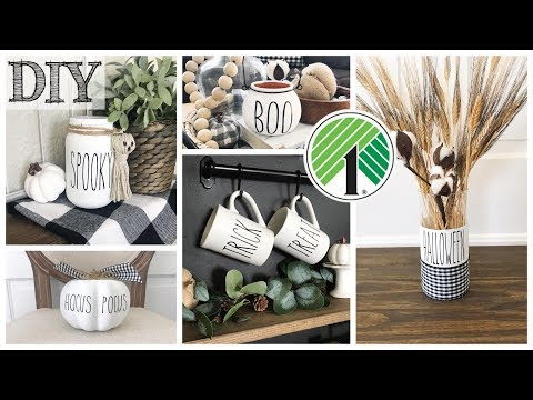 DIY Dollar Tree Halloween Decor | 5 Projects!