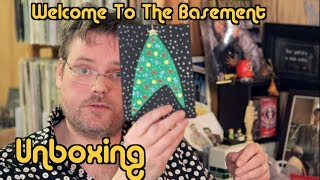 Star Trek Christmas   Unboxing   Welcome To The Basement