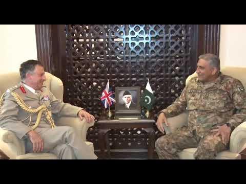 General Sir Nicholas Patrick Carter, Chief of General Staff (CGS) UK Army met COAS