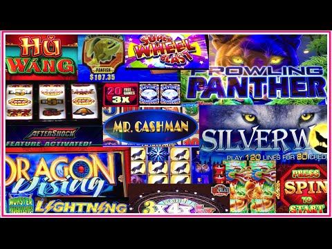22 Slot Machines in 72Minutes!! ✦LIVE PLAY in REAL TIME✦ San
