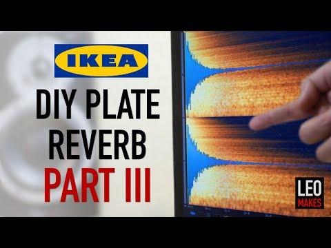 """IKEA Hack"" Plate Reverb Part 3 (Free IR files!)"