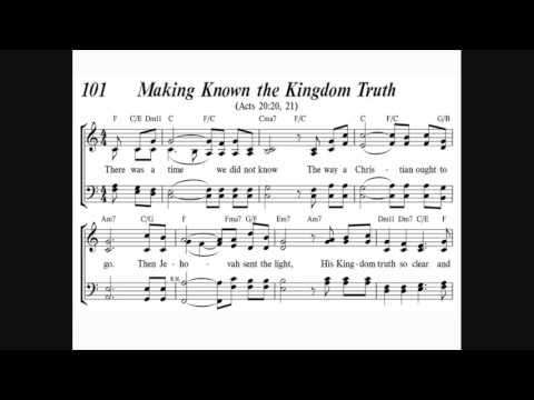 Sing to Jehovah Song #101 Making Known The Kingdom Truth Orchestral Version