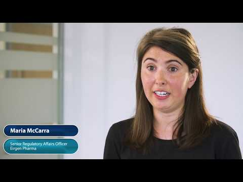 EirGen Pharma Maria McCarra Senior Regulatory Affairs Officer