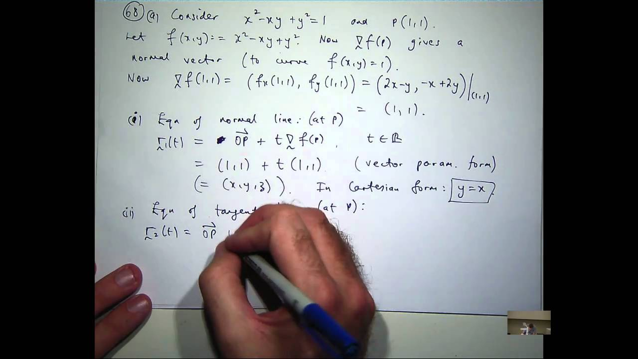 Tutorial on gradient and tangent plane