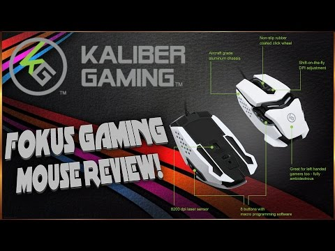 KaliberGaming FOKUS Gaming Mouse - Sexiest Mouse Ever!