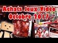 Achats Jeux Vidéo Octobre 2017 Enfin La Switch Retrogaming En Vide Grenier PS4 Sur Internet mp3
