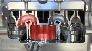 видео Пятитактный двигатель