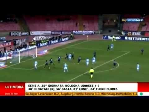 Napoli 1-0 Inter 26-02-2012 Highlight Sky Sport