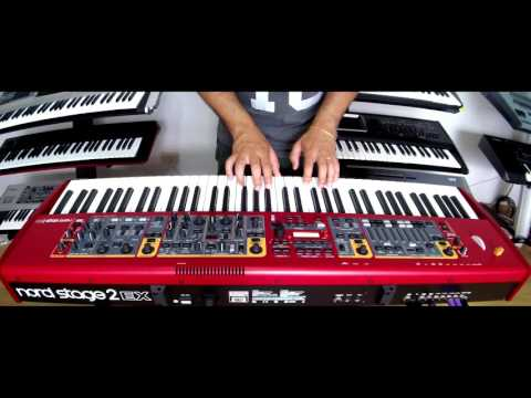 Nord Stage 2 EX HP76 , The Royal Grand 3D , DEMO