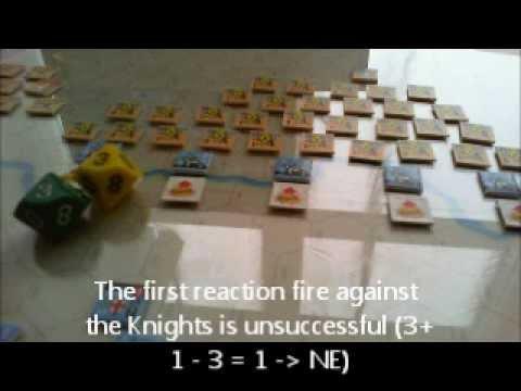 Infidel - Montgisard - brief video log
