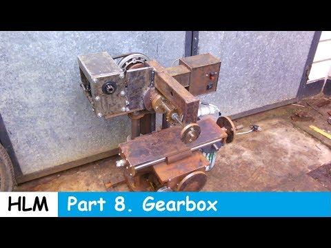 Homemade milling machine part 8