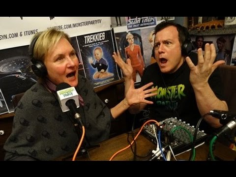 Denise Crosby on MONSTER PARTY  on Leaving