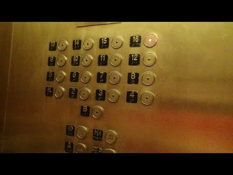 ANNOYING Global/JRT Traction Elevator @ Holiday Inn Downtown