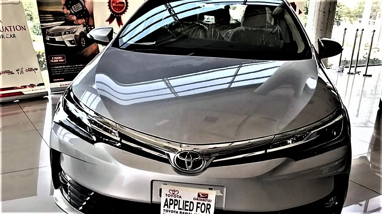2017  2018 toyota corolla altis grande 1 8 facelift walkaround review in pakistan
